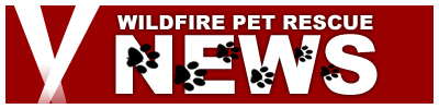 Wildfire Pet Rescue News